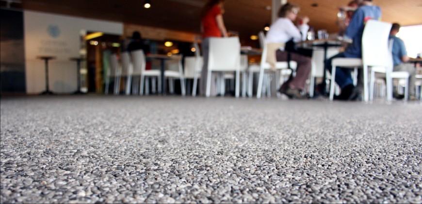 bodenbeschichtung restaurant steinteppich ravello 2 - Ravello